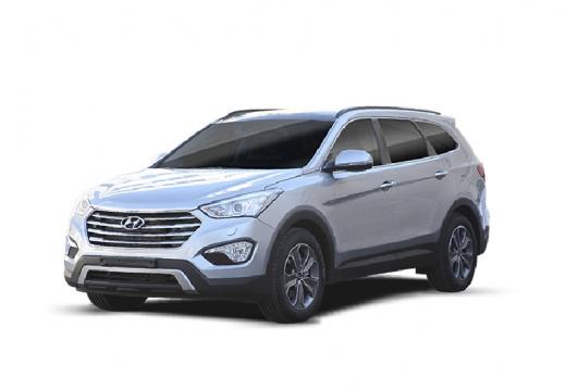 HYUNDAI Santa Fe kombi silver grey