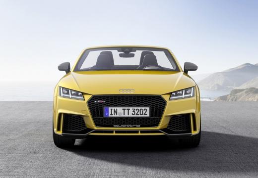 AUDI TT roadster żółty przedni