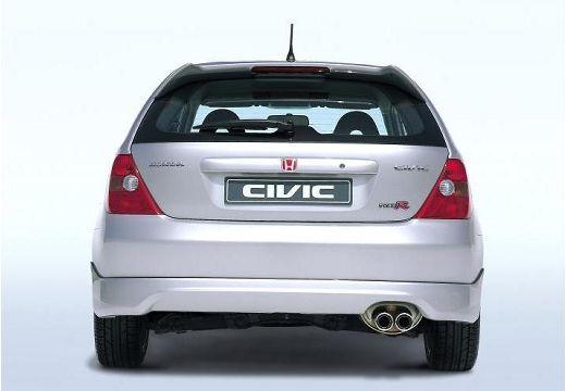 HONDA Civic IV hatchback silver grey tylny