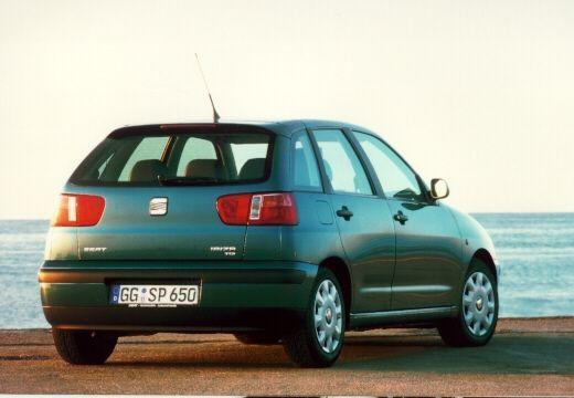 SEAT Ibiza III hatchback zielony tylny prawy