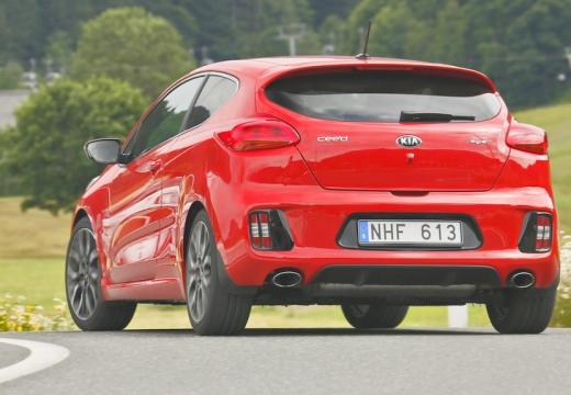 KIA Ceed Proceed IV hatchback czerwony jasny tylny lewy
