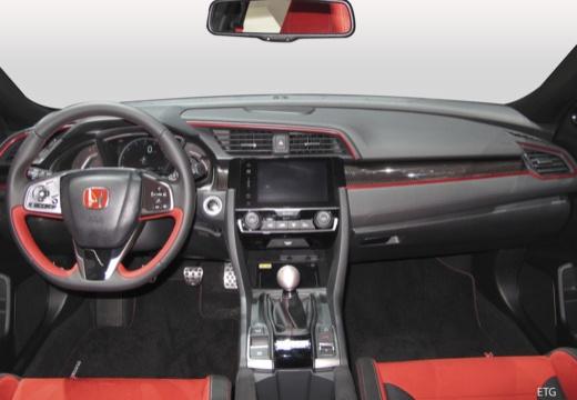 HONDA Civic X hatchback tablica rozdzielcza