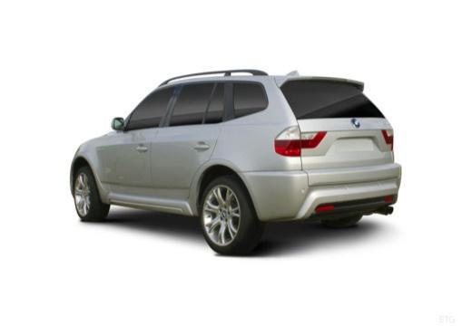 BMW X3 X 3 E83 II kombi silver grey tylny lewy