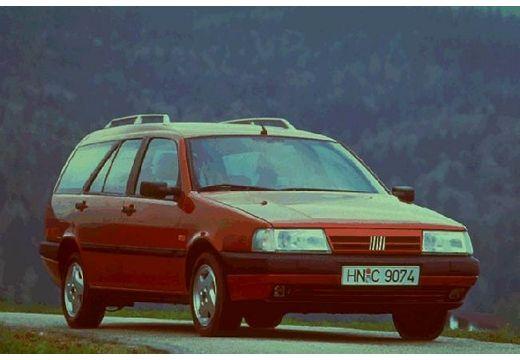 FIAT Tempra Stationwagon kombi bordeaux (czerwony ciemny) przedni prawy