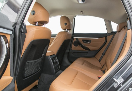BMW Seria 4 Gran Coupe F36 I hatchback wnętrze