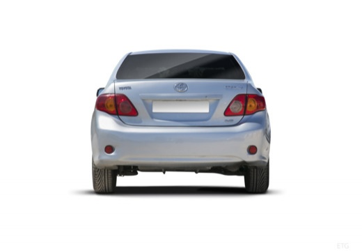 Toyota Corolla I sedan tylny