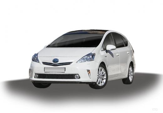 Toyota Prius + I kombi biały