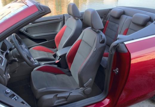 VOLKSWAGEN Golf Cabriolet kabriolet wnętrze