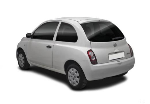 NISSAN Micra VI hatchback tylny lewy