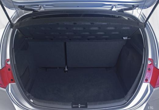 SEAT Leon III hatchback przestrzeń załadunkowa