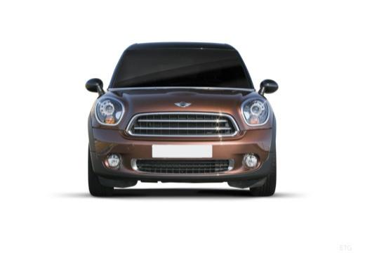 MINI [BMW] Paceman hatchback brązowy przedni