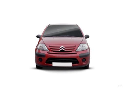 CITROEN C3 II hatchback czerwony jasny przedni