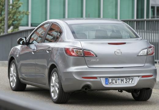 MAZDA 3 IV sedan silver grey tylny lewy