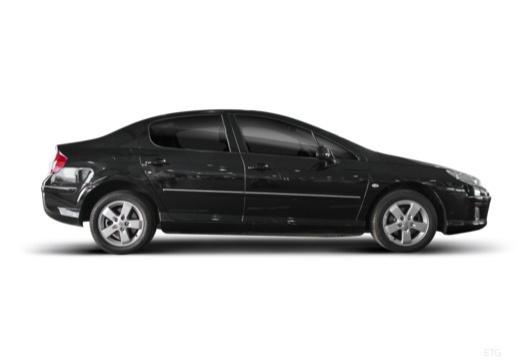 PEUGEOT 407 sedan boczny prawy