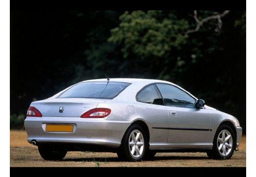 PEUGEOT 406 II coupe silver grey tylny prawy