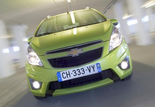 CHEVROLET Spark hatchback zielony przedni