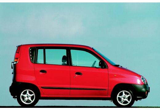 HYUNDAI Atos I hatchback czerwony jasny boczny prawy