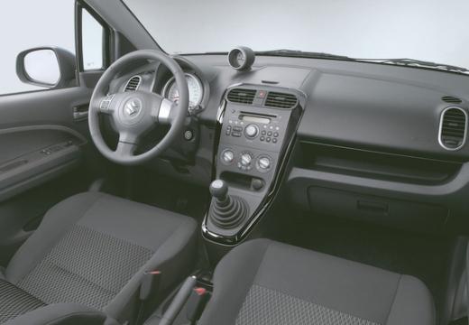 SUZUKI Splash II hatchback wnętrze