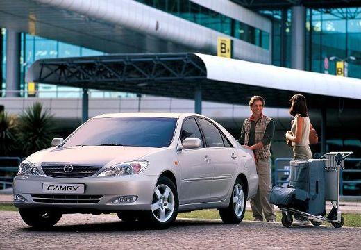 Toyota Camry IV sedan silver grey przedni lewy