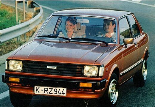 Toyota Tercel hatchback brązowy przedni lewy