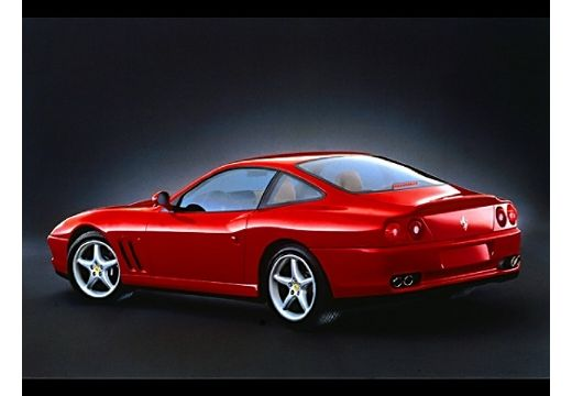 FERRARI 550 coupe czerwony jasny tylny lewy