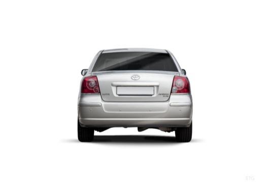 Toyota Avensis IV sedan silver grey tylny
