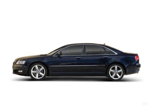 AUDI A8 4E II sedan boczny lewy