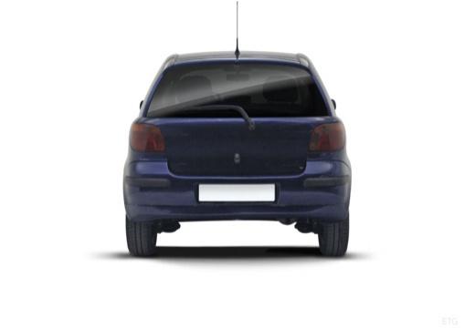 Toyota Yaris II hatchback tylny