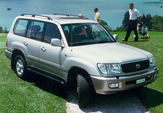 Toyota Land Cruiser 100 I kombi silver grey przedni prawy