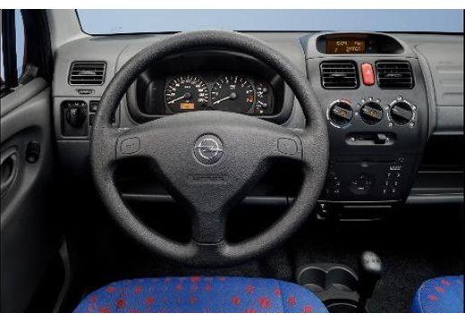 OPEL Agila hatchback tablica rozdzielcza