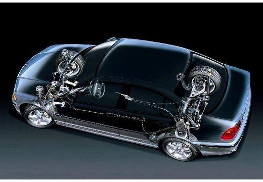 BMW Seria 3 sedan prześwietlenie