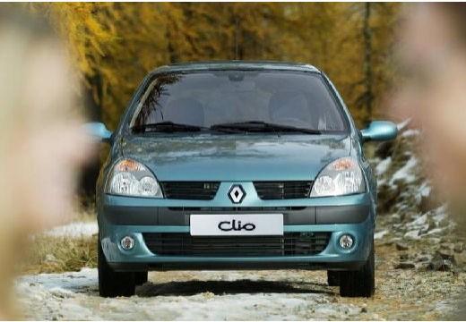 RENAULT Clio II III hatchback zielony przedni