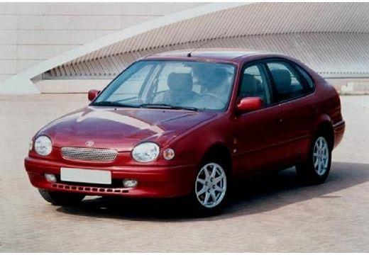 Toyota Corolla Liftback IV hatchback bordeaux (czerwony ciemny) przedni lewy