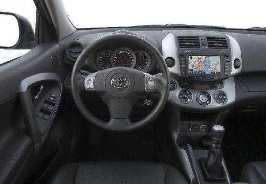 Toyota RAV4 USA kombi czarny tablica rozdzielcza