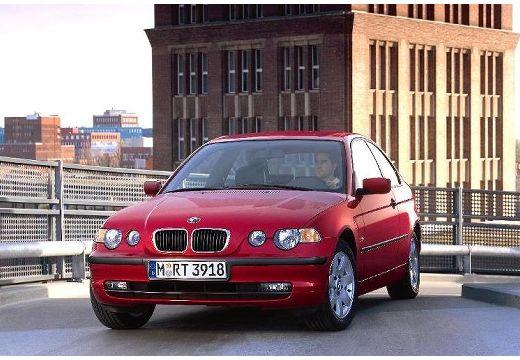 BMW Seria 3 Compact E46/5 hatchback czerwony jasny przedni lewy