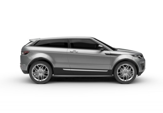 LAND ROVER Range Rover kabriolet boczny prawy