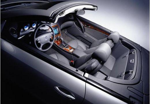 MERCEDES-BENZ Klasa SL SL 230 I roadster czarny wnętrze