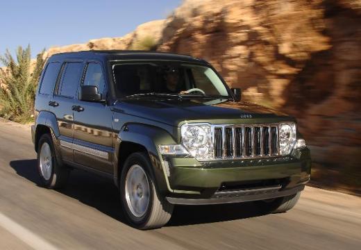 JEEP Cherokee IV kombi zielony przedni prawy