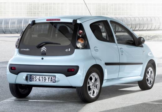 CITROEN C1 III hatchback niebieski jasny tylny prawy