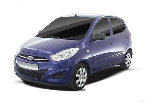 HYUNDAI i10 II hatchback niebieski jasny