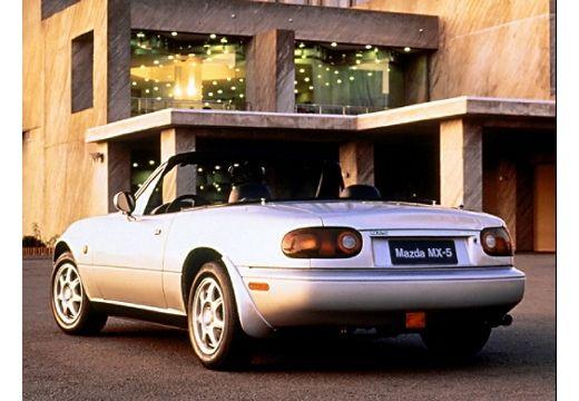 MAZDA MX-5 I roadster silver grey tylny lewy