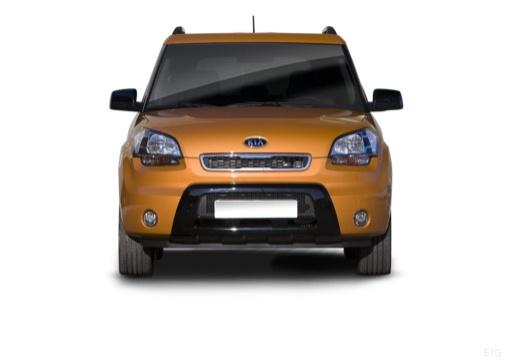 KIA Soul hatchback pomarańczowy przedni