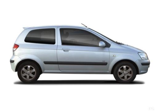 HYUNDAI Getz hatchback boczny prawy