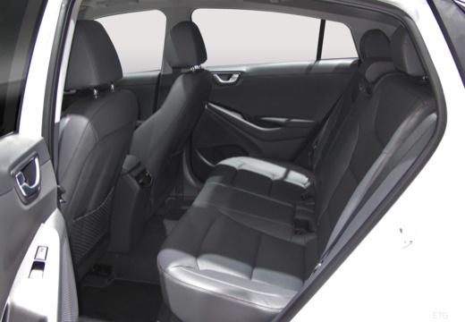 HYUNDAI Ioniq hatchback wnętrze