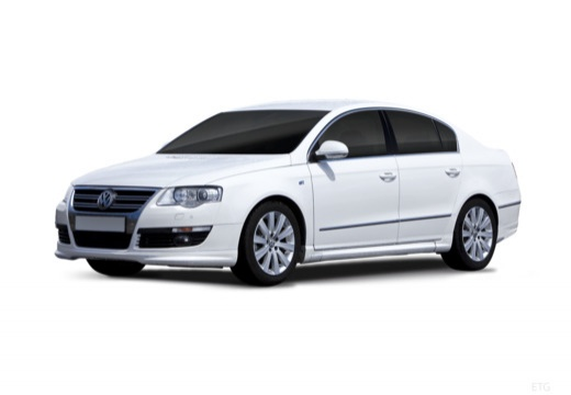 VOLKSWAGEN Passat V sedan biały przedni lewy