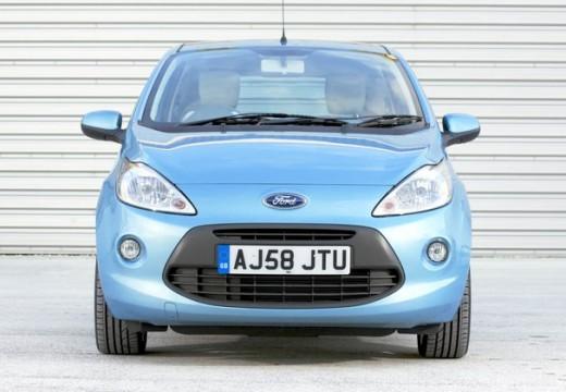 FORD Ka II hatchback niebieski jasny przedni
