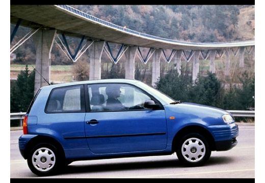 SEAT Arosa hatchback niebieski jasny boczny prawy