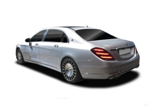 MERCEDES-BENZ S Klasa Maybach X 222 sedan tylny lewy