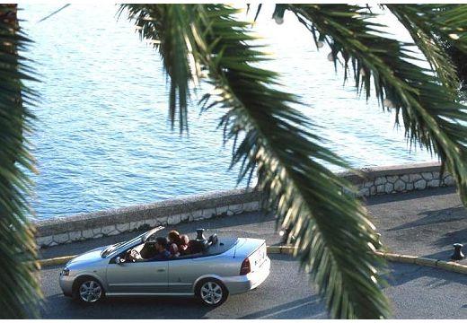 OPEL Astra II Cabriolet kabriolet silver grey tylny lewy