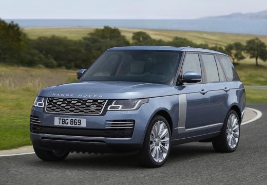 LAND ROVER Range Rover kombi niebieski jasny przedni lewy